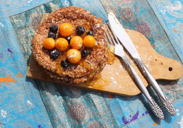 Read more about the article Goldenberries Oatmeal Pancakes